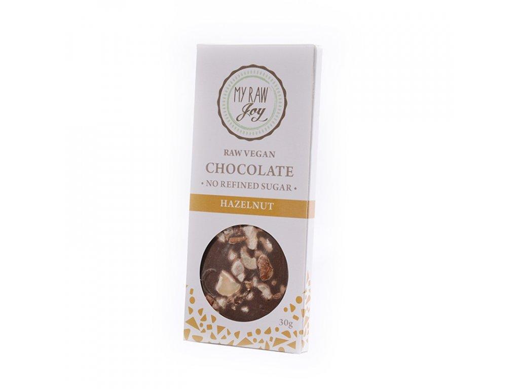 My Raw Joy - Čokoláda Lískový ořech  *CZ-BIO-001 certifikát