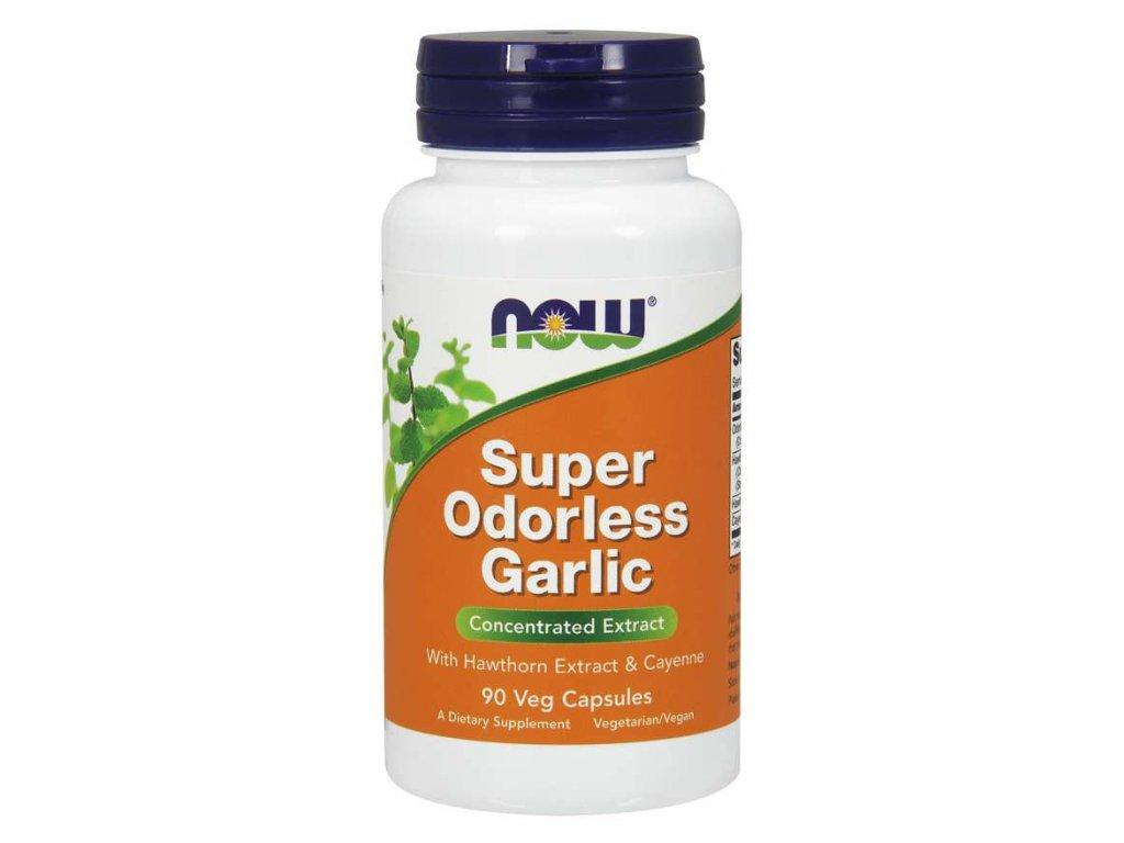 Super odorless garlic