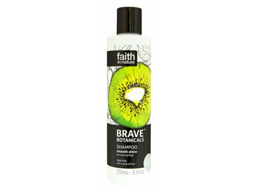 faith brave prirodni sampon kiwi limeta lesk 250ml