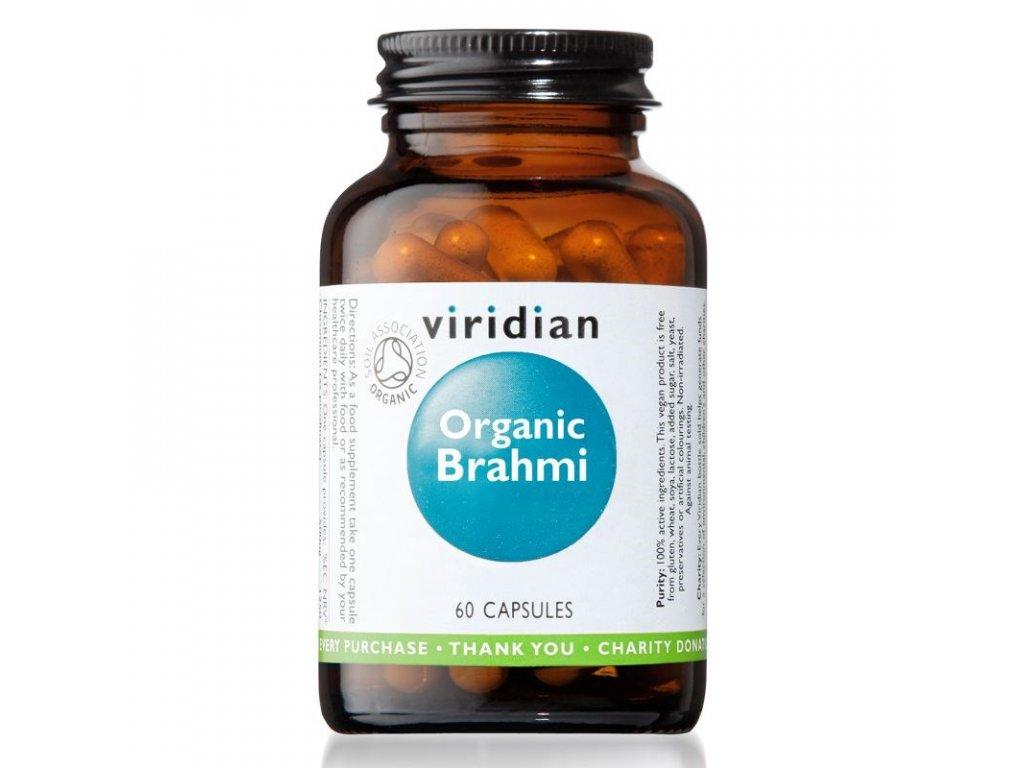 OrganicBrahmi60cps viridian