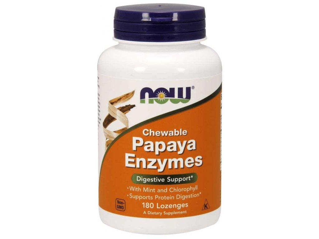 papaya enzymy bromelain travici enzymy