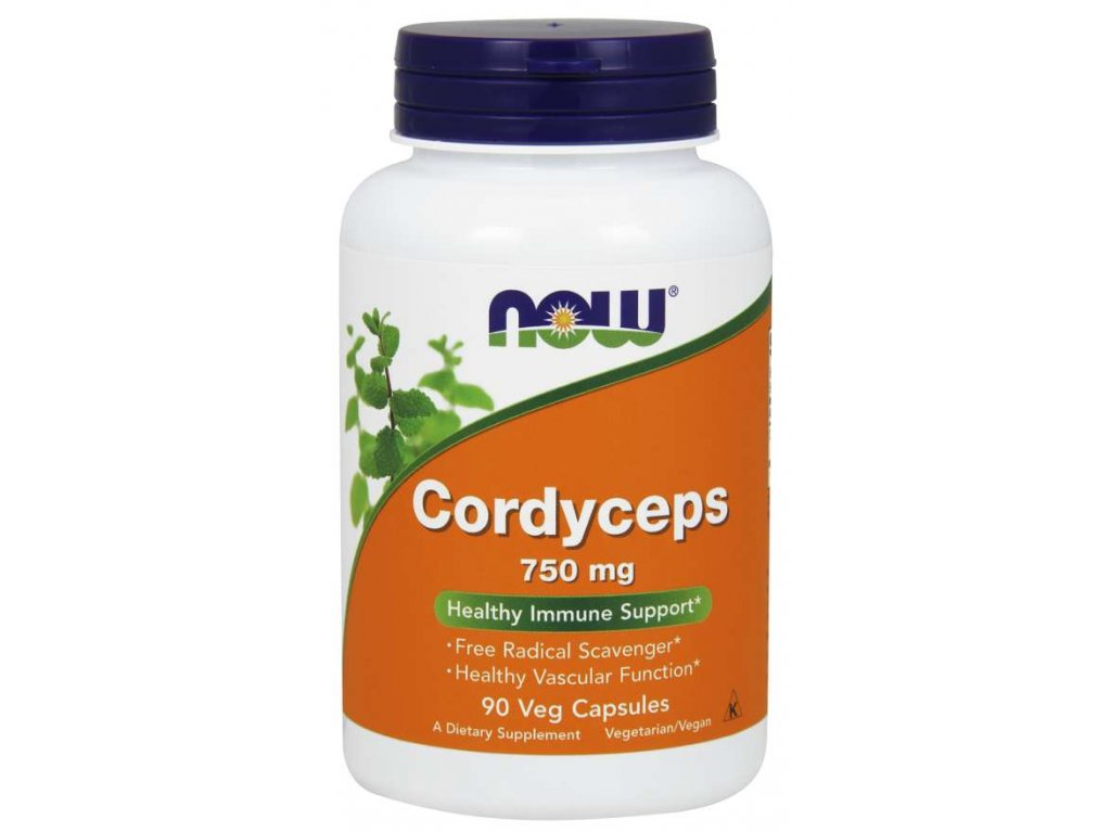 now cordyceps 750mg 90kapslí