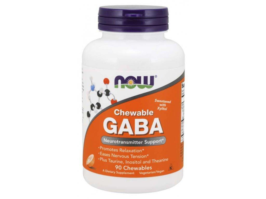 now gaba taurin inositol l theanin 500mg 90 zvykacich kapsli