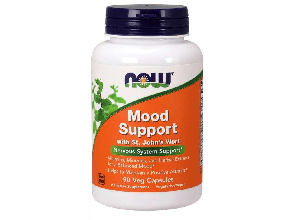 NOW Mood Support s třezalkou (duševní rovnováha) 90 rostlinných kapslí