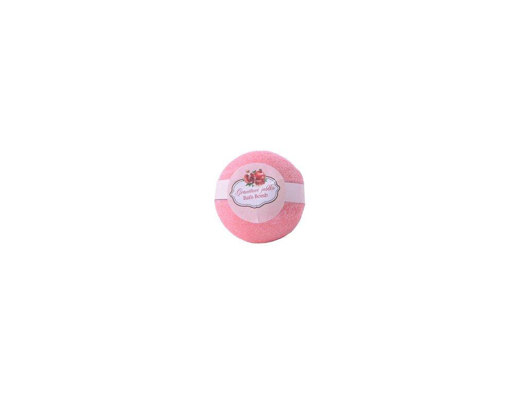 BOTANICO - bath bombs (šumivá koupelová koule), 50g - granátové jablko