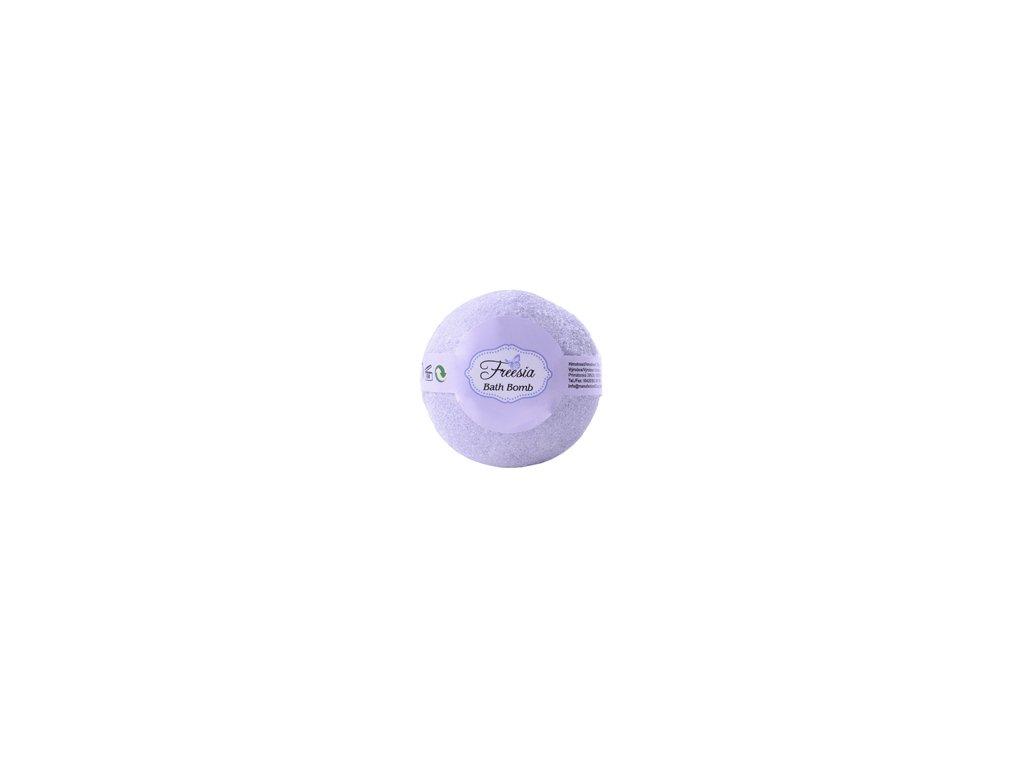 BOTANICO - bath bombs (šumivá koupelová koule), 50g - frézie