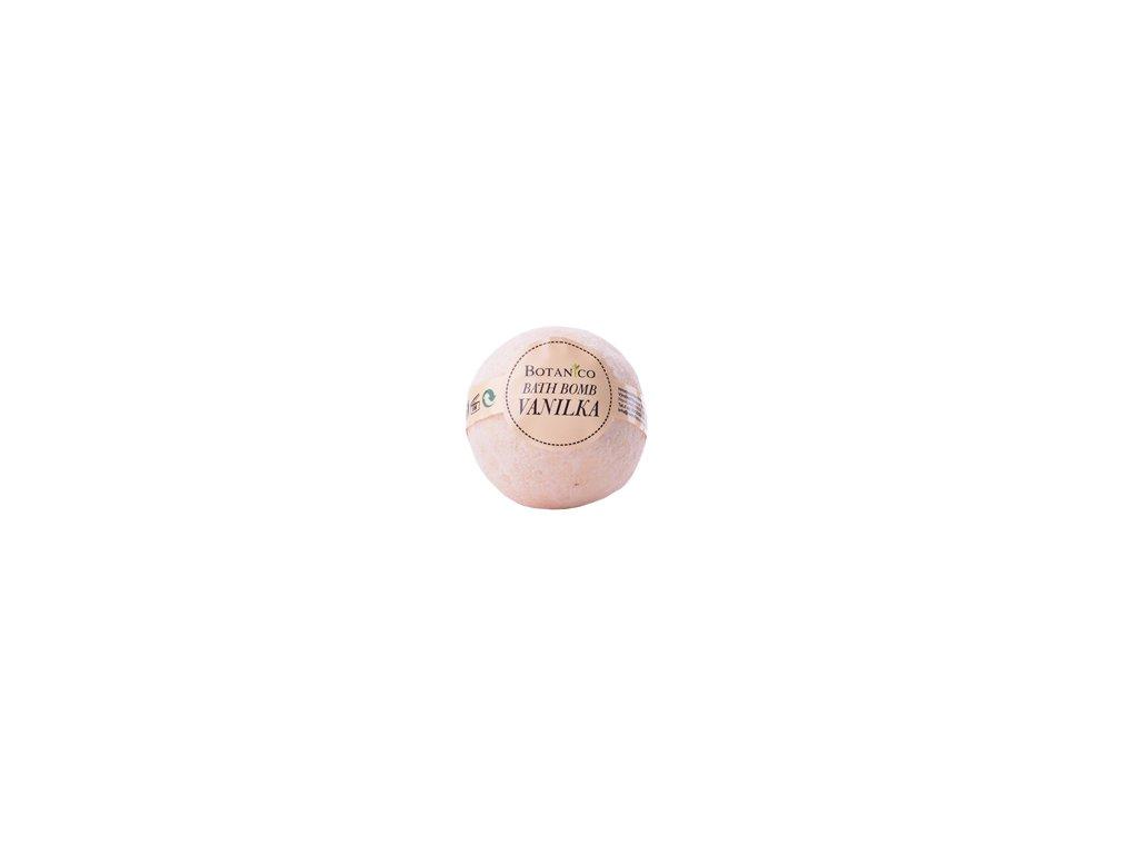 BOTANICO - bath bombs (šumivá koupelová koule), 50g - vanilka