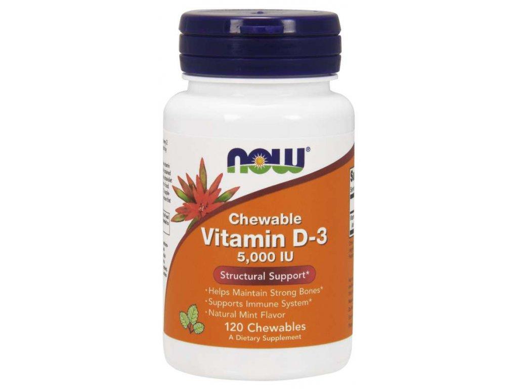 Vitamin D 3 5000IU, 240 caps.jpg, Chewable