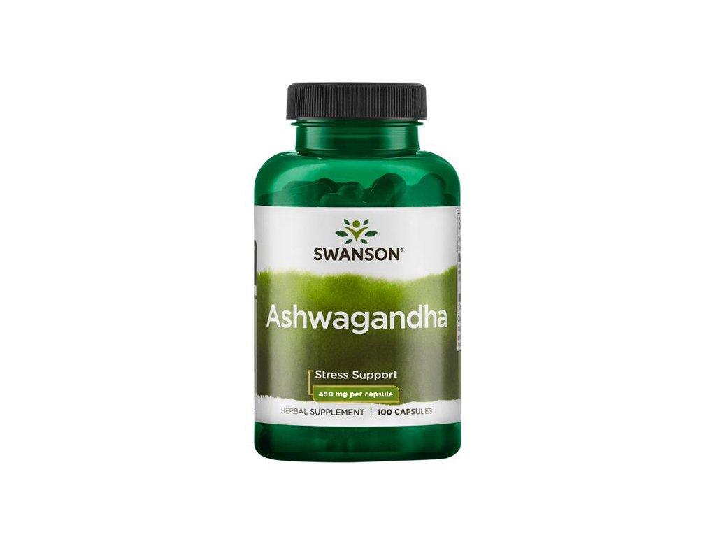 Swanson Ashwagandha 450 mg 100 kapsli 22 1