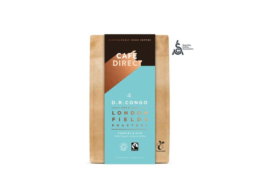 BIO Mletá káva Congo SCAA 84 s tóny medu a hořké čokolády 200g