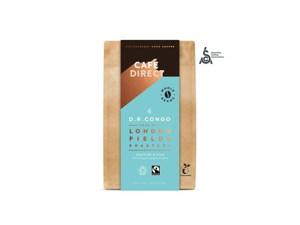 'BIO Zrnková káva Congo SCAA 84 s tóny medu a hořké čokolády 200g (1)