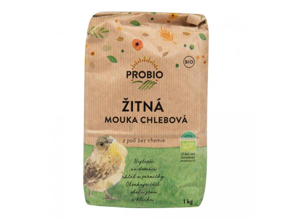 PROBIO - Mouka žitná chlebová BIO, 1kg  *CZ-BIO-001 certifikát