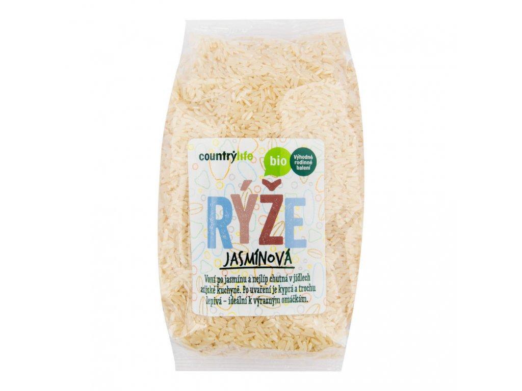 CountryLife - Rýže jasmínová BIO, 1kg  *CZ-BIO-001 certifikát