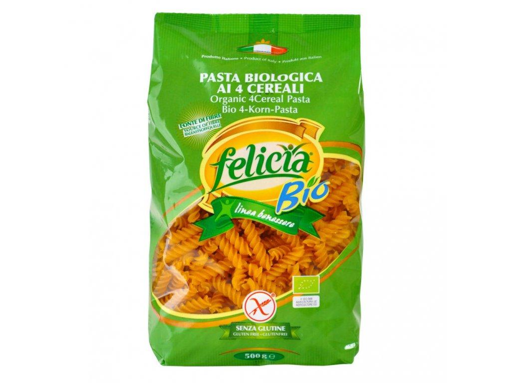 Felicia - Těstoviny vřetena mix bezlepková BIO, 500g  *CZ-BIO-001 certifikát