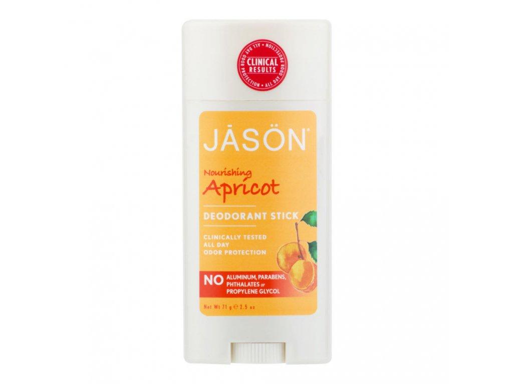 JASON, Deodorant tuhý meruňka 71 g