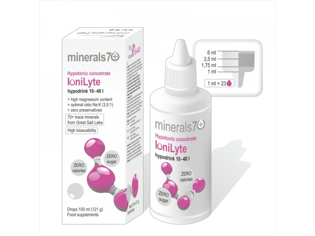 hypotonic concentrate ionilyte