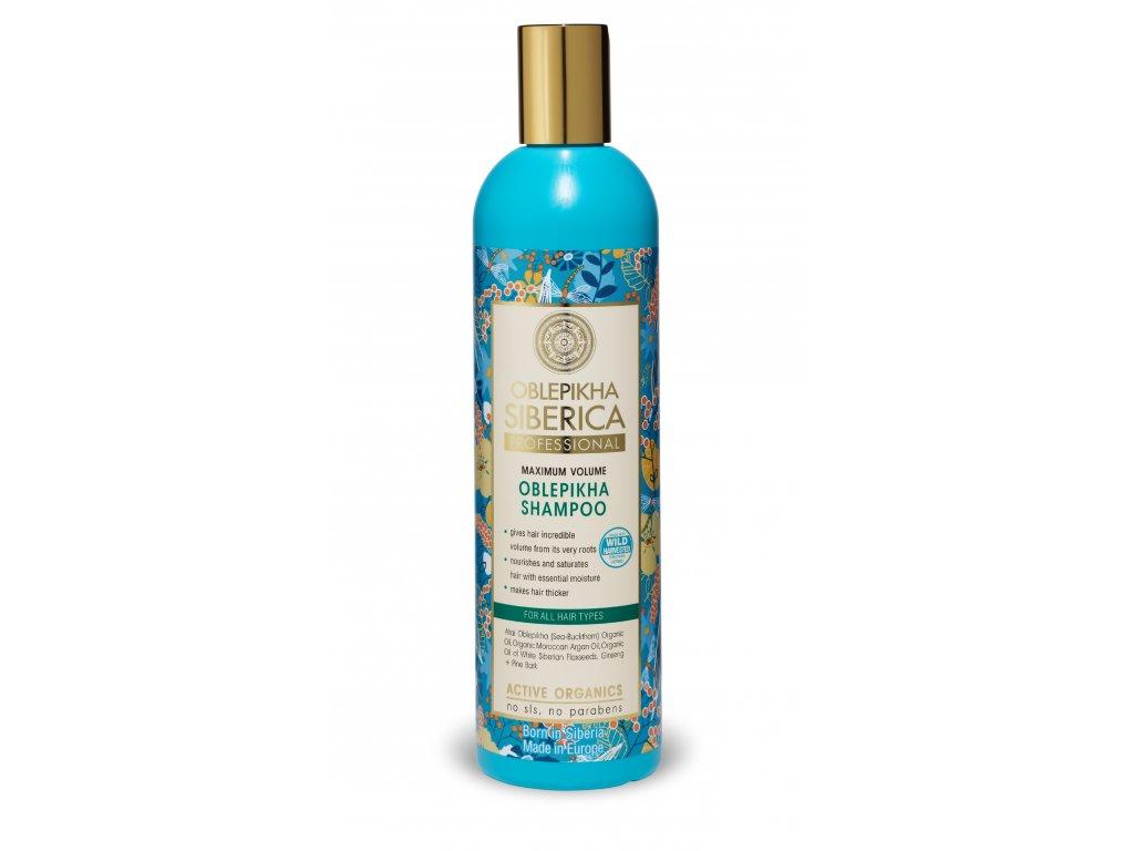 Natura Siberica - Rakytníkový objemový šampon, 400 ml