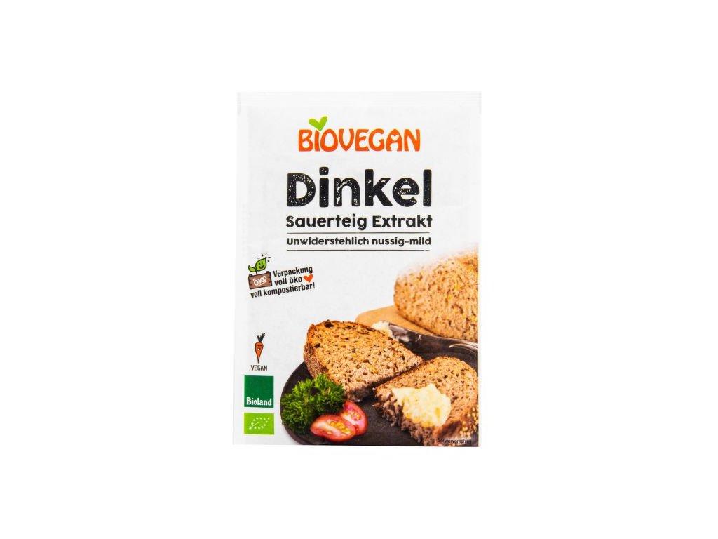 Biovegan - Kvásek špaldový sušený 30 g BIO  *CZ-BIO-001 certifikát