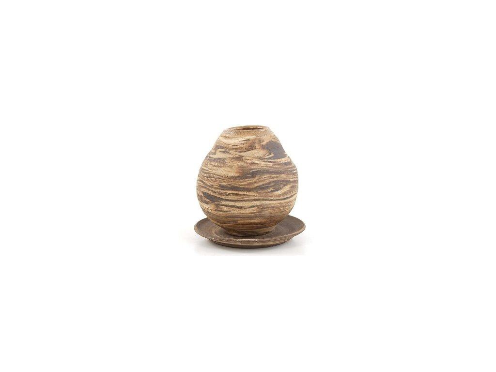 keramicka kalabasa zihana s talirkem 350 ml