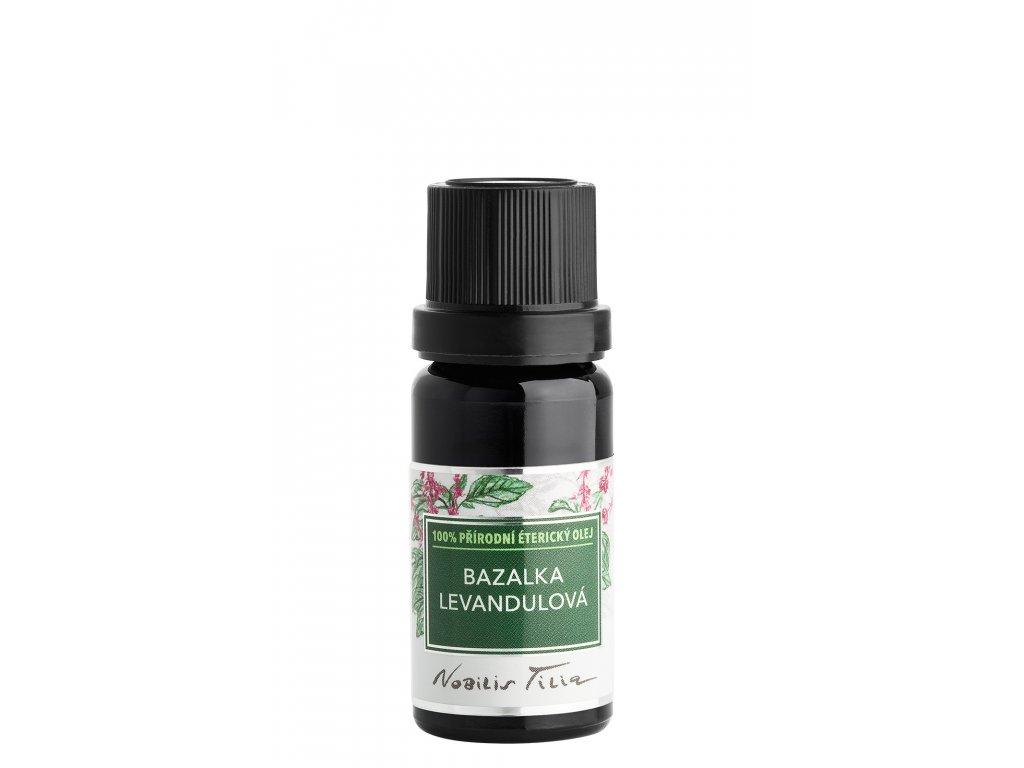 E017B Éterický olej Bazalka levandulová