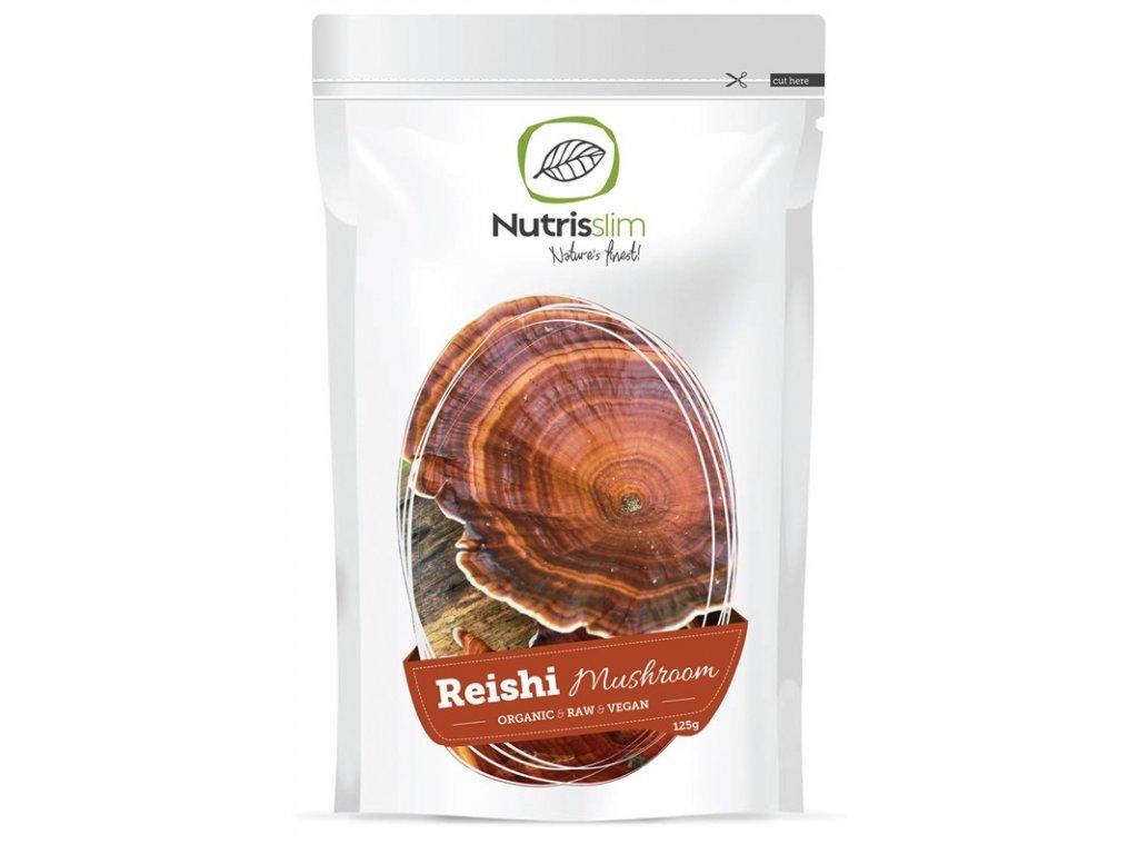 reishi mushroom powder nutrisslim superfood organic vegan raw