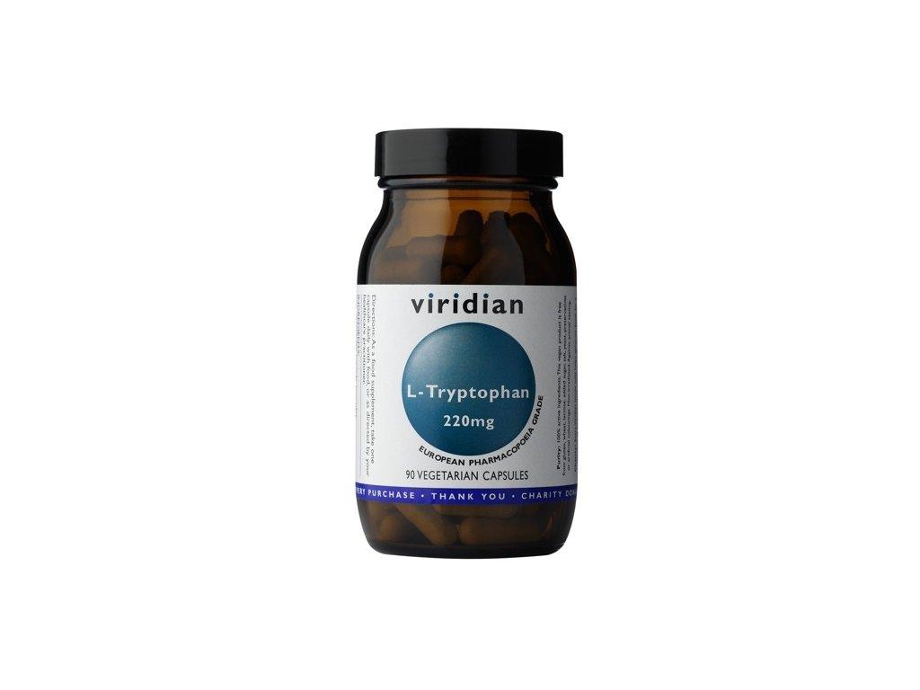 Viridian L Tryptophan 220mg