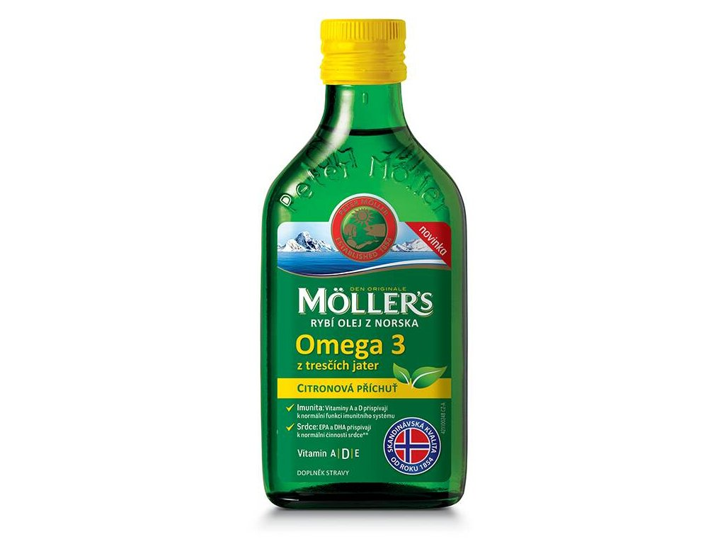 mollers omega 3 citron roztok 250ml darkove baleni