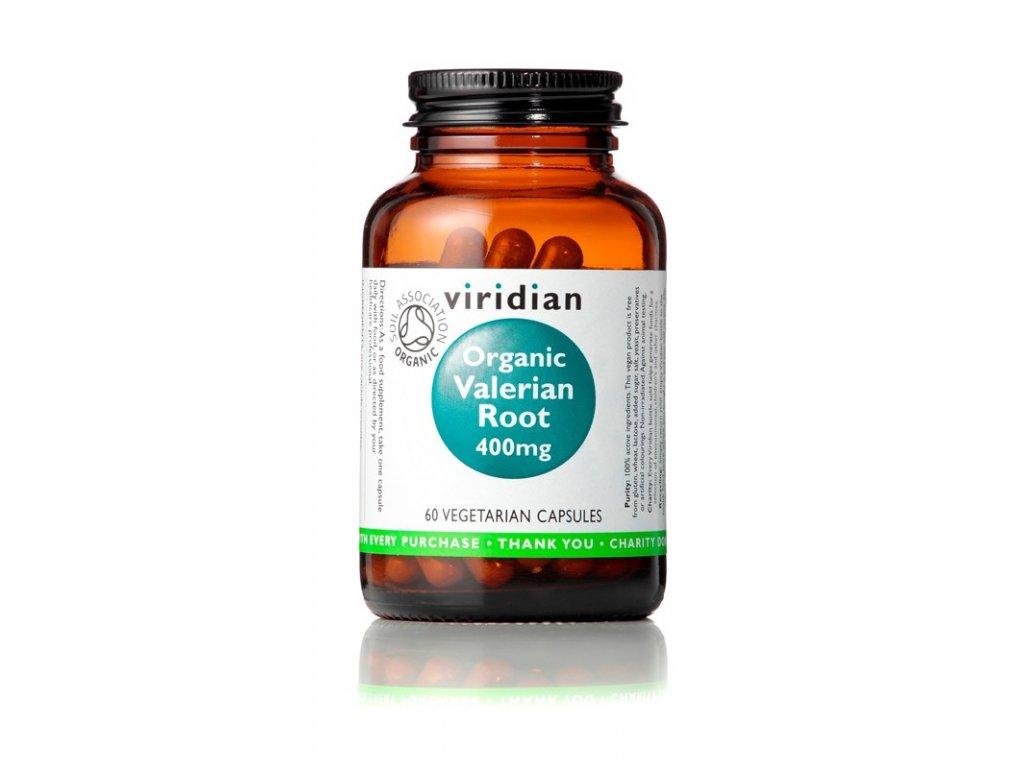 Viridian Organic Valerian Root 60 kapsulí