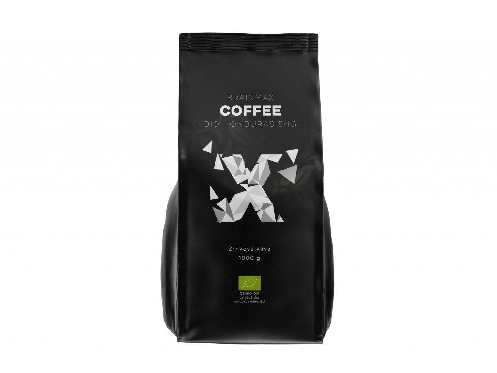 BrainMax Coffee - Káva Honduras SHG BIO - Zrno, 1kg  *CZ-BIO-001 certifikát