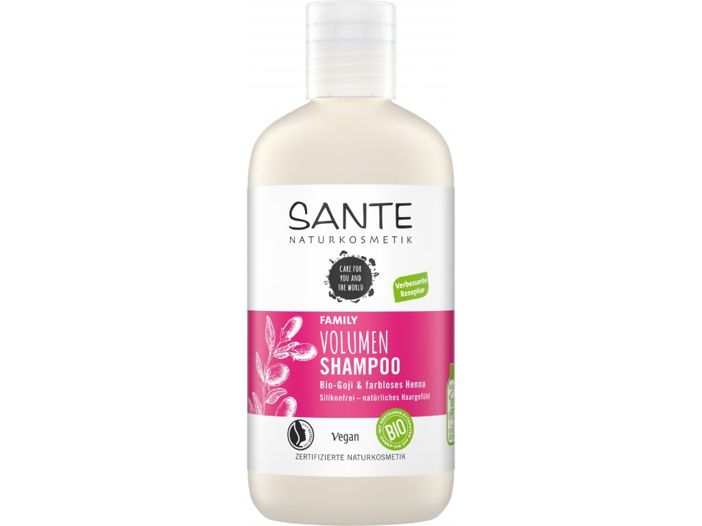 Sante - Šampon na objem vlasů Bio Goji, 200ml