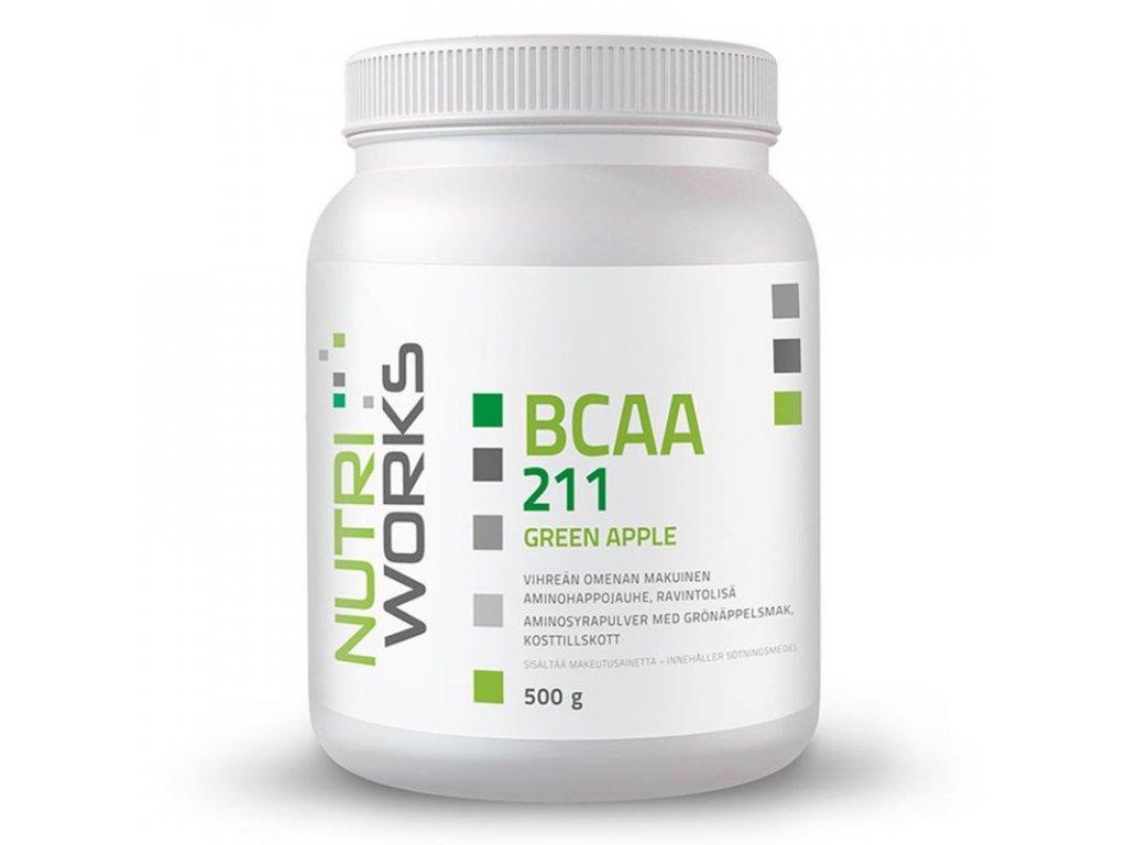 BCAA greenapple Nutriworks