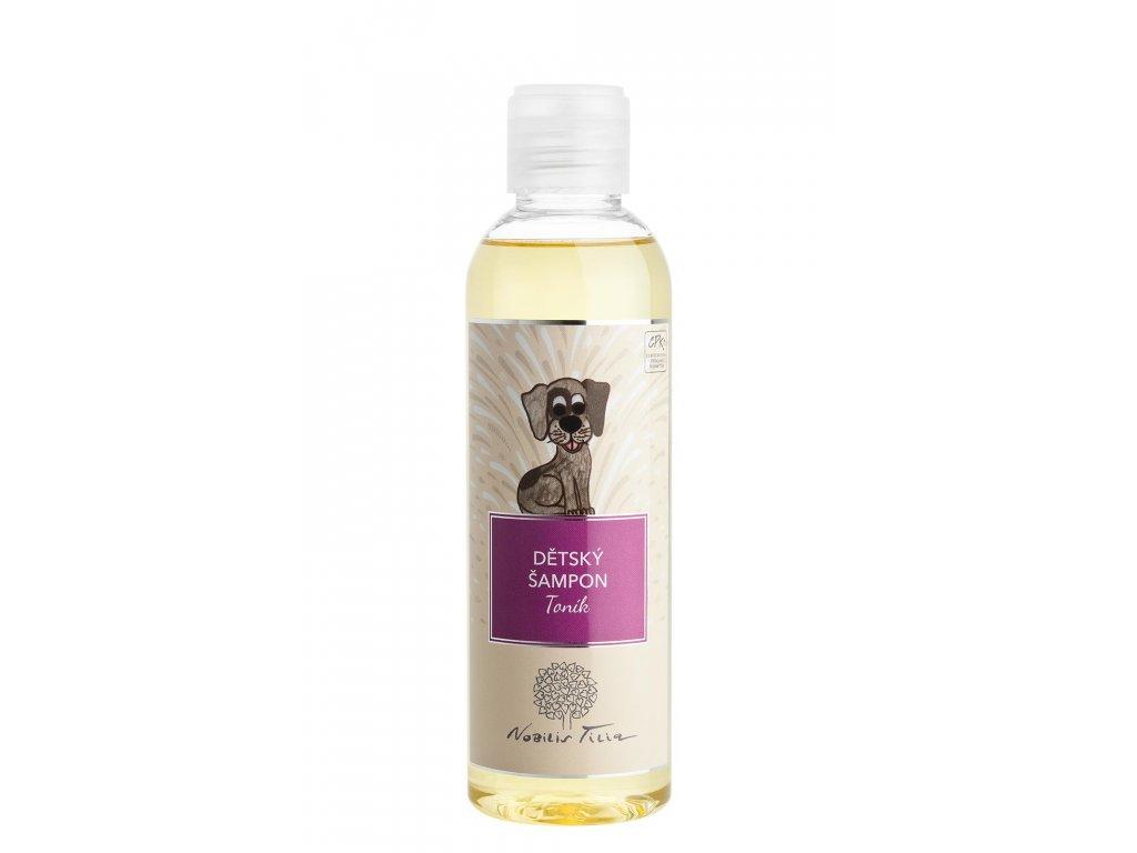Dětský šampon s medem a heřmánkem Toník 200ml