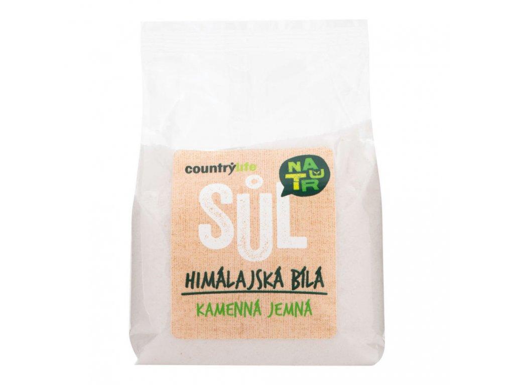 coutrylife himalíjská sůl bílá jemná