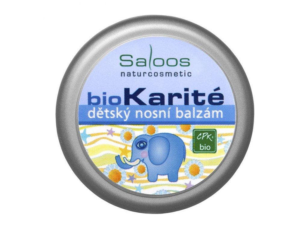 Saloos bio karité dětský nosní