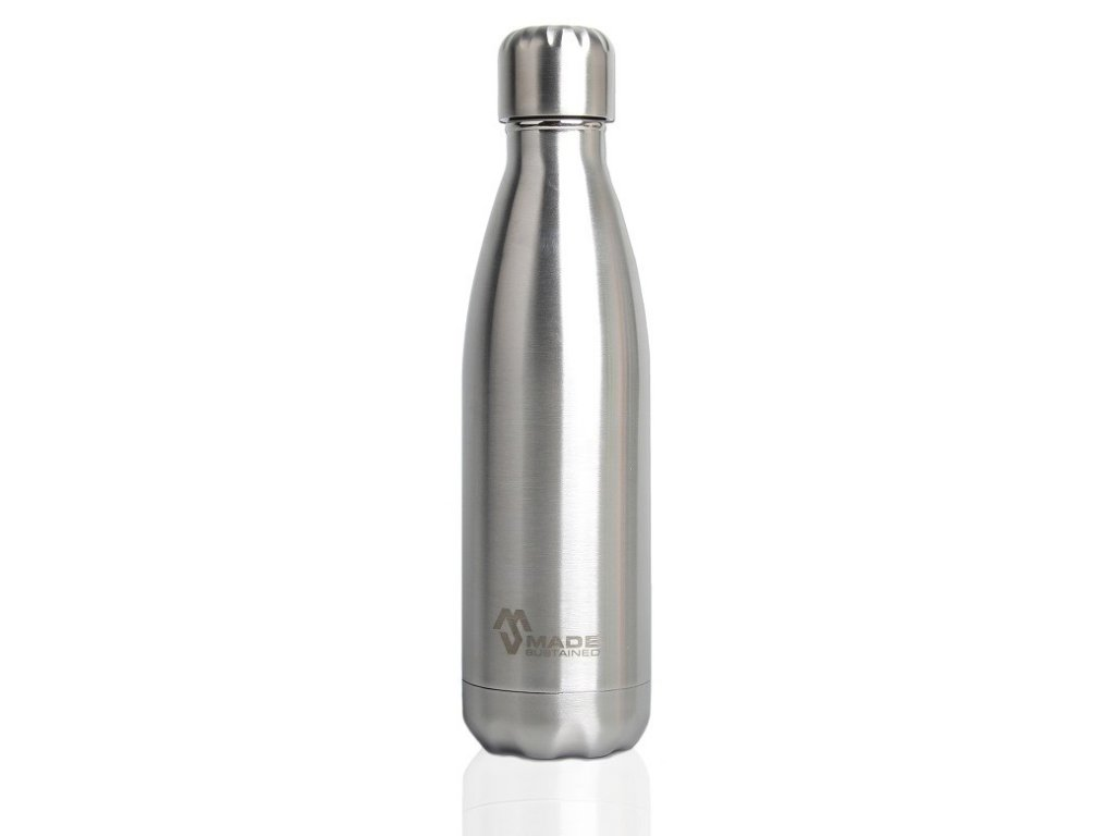 termoska ocel Made Sustained 750ml insulated Knight bottle brushed SS