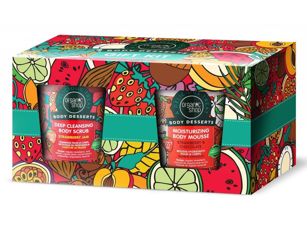 Organic shop dárková sada tělové dezerty