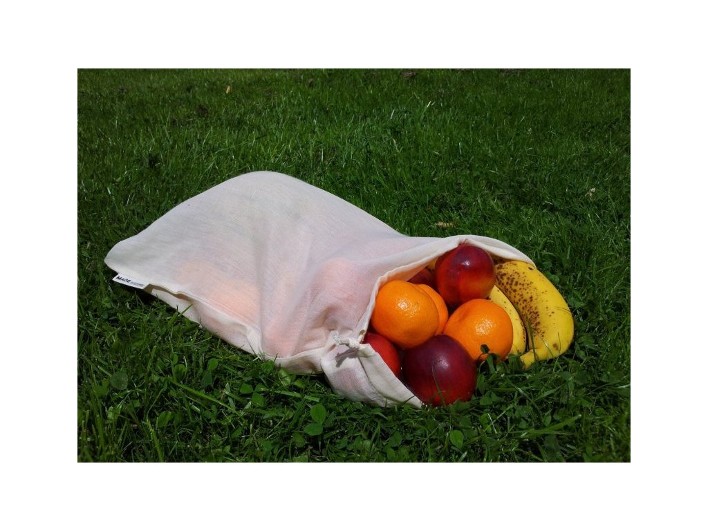 Re Sack Voile filled with fruit