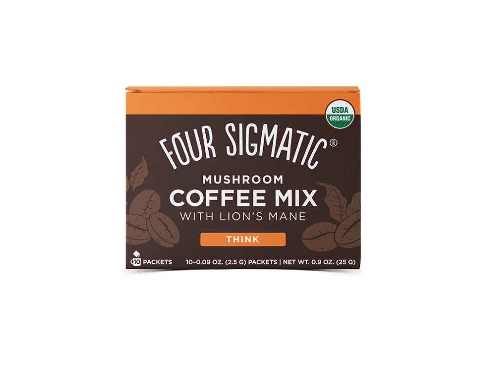 Four Sigmatic Lion's Mane Mushroom Coffee mix