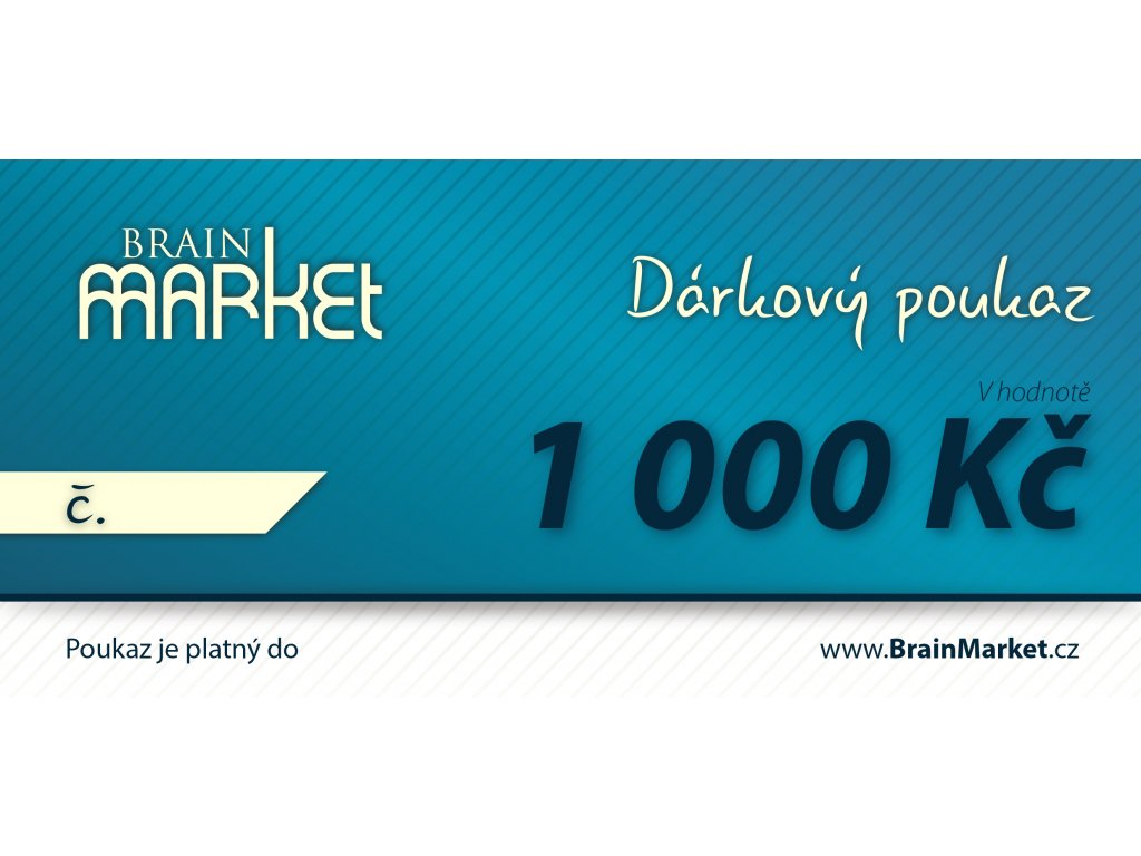 Darkovy poukaz v1000