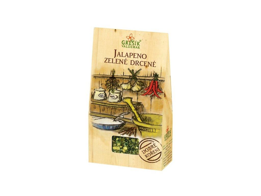 jalapeno zelene drcene