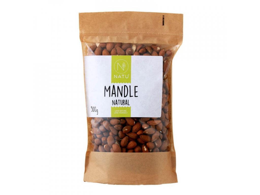 mandle natural 500g