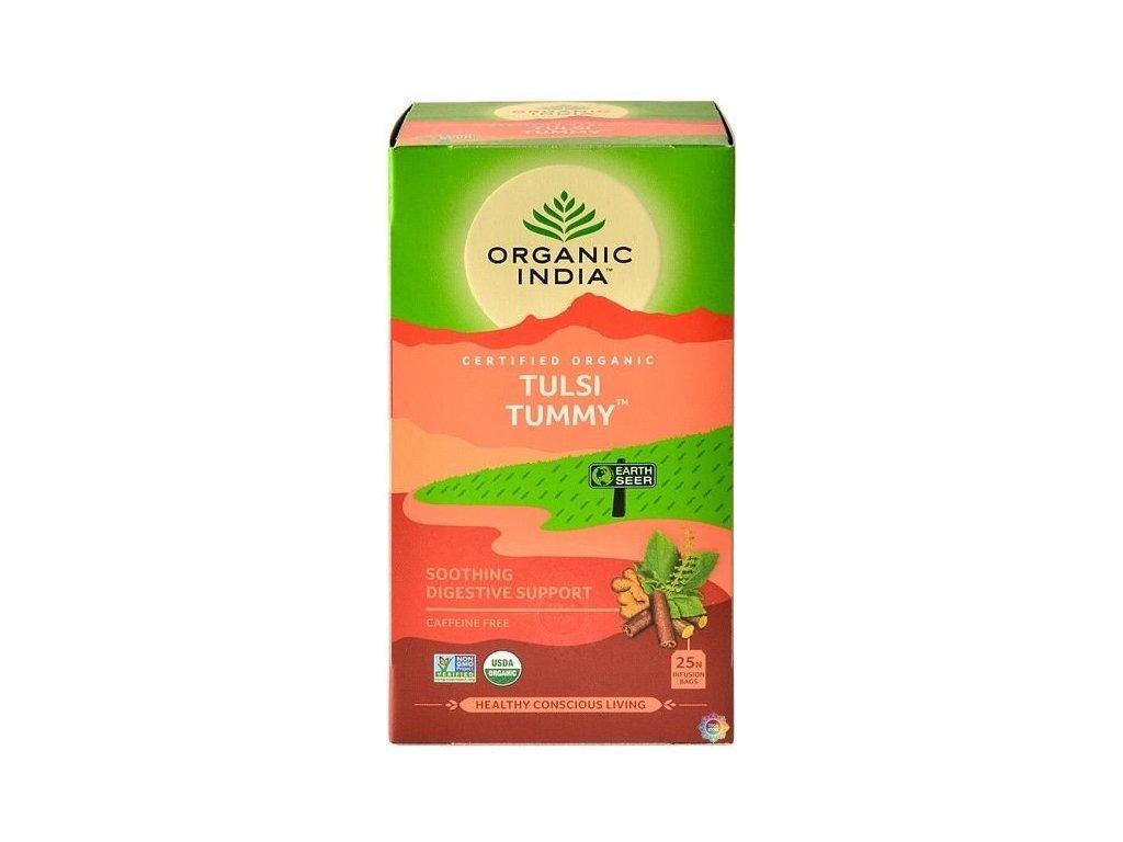 Tulsi Wellness (Tummy) – správné trávení BIO, 25 sáčků  *IN-BIO-149 certifikát