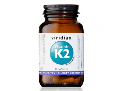 Vitamin K2 30cps viridian 1