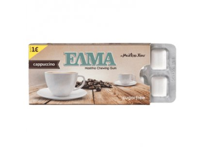 ELMA Žvýkačky, Cappuccino - 10ks