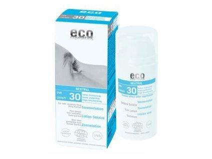 eco cosmetics opalovaci krem neutral bez parfemace spf 30 bio 100 ml
