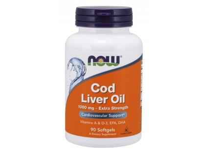 Cod liver, 90 caps