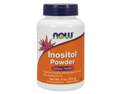 NOW Inositol (myo-inositol), čistý prášek, 113g