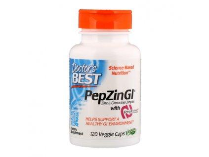 Doctors best PepZin Zinc Carnosine Complex 120 kapsli front