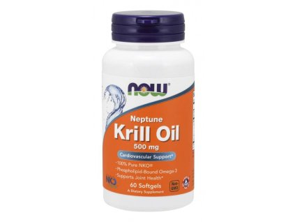 Krill oil 500 mg, 60 caps