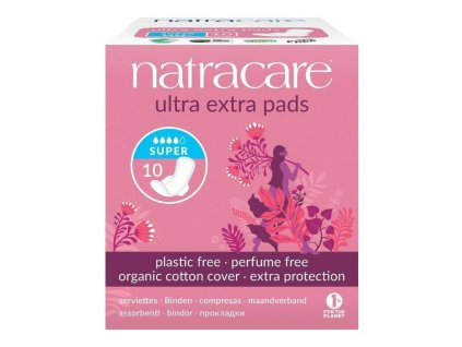 B20D326B 5C83 46E3 979D E523C201DD1D natracare menstruacni vlozky ultra extra super s kridelky 10 ks